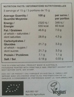 Eighty - Informations nutritionnelles - fr