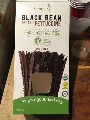 Black bean organic fettuccine - Producto - en