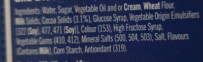 oreo icecream - Ingredients - en