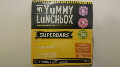 My Yummy Lunchbox Superbars - Product - en