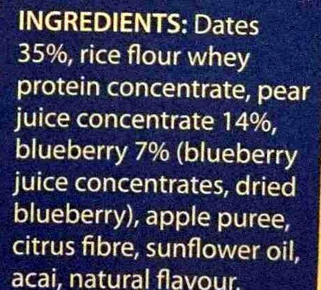 Fruit Sticks - Ingredients - en
