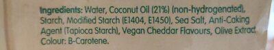 Bio Cheese - Ingrédients - en