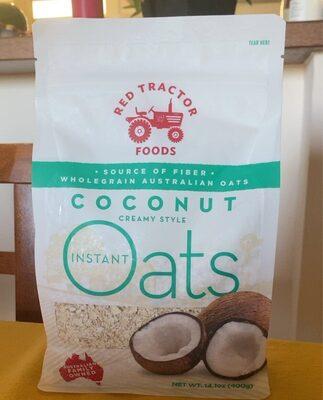 Instant Oats COCONUT CREAMY STYLE - 产品