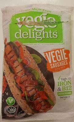Vegie Sausages - Product - en