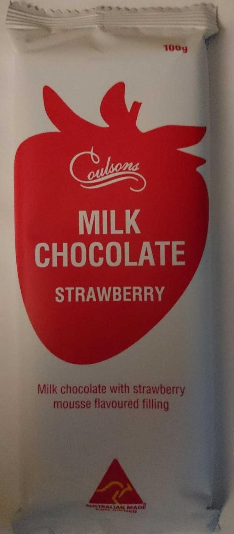 Milk Chocolate Strawberry - Product - en