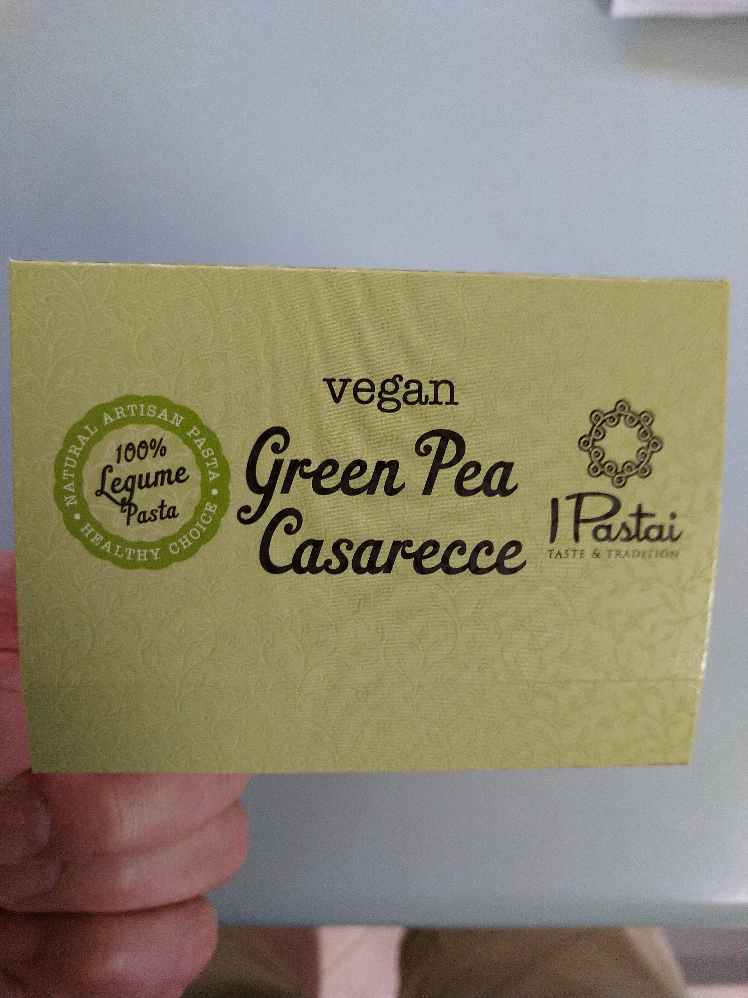 Vegan Green Pea Casarecce - Produit - en
