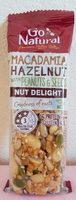 Macadamia Hazelnut with Peanuts and Seeds Bar - Product