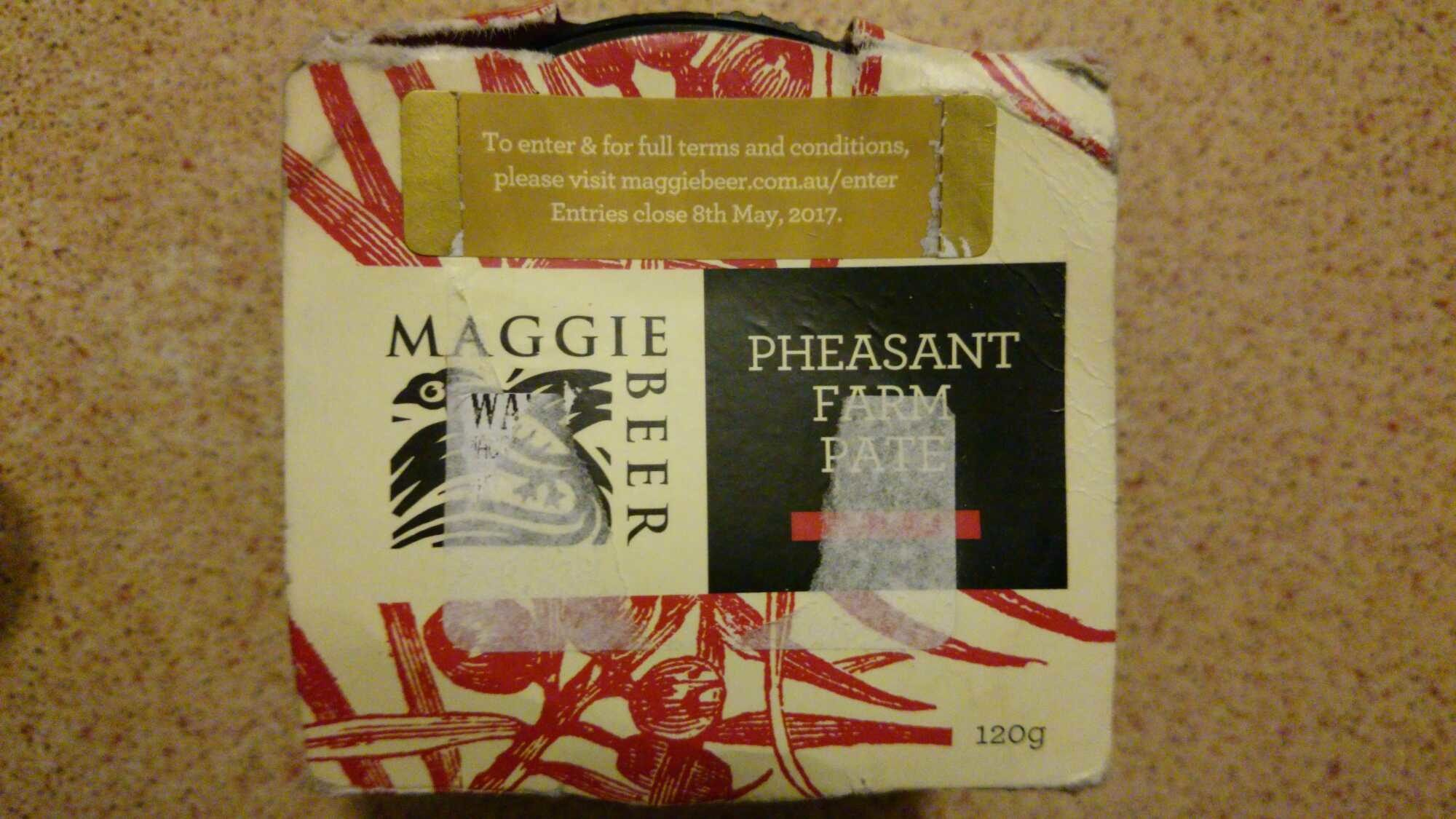 Maggie Beer Pheasant Farm Pate - Produit