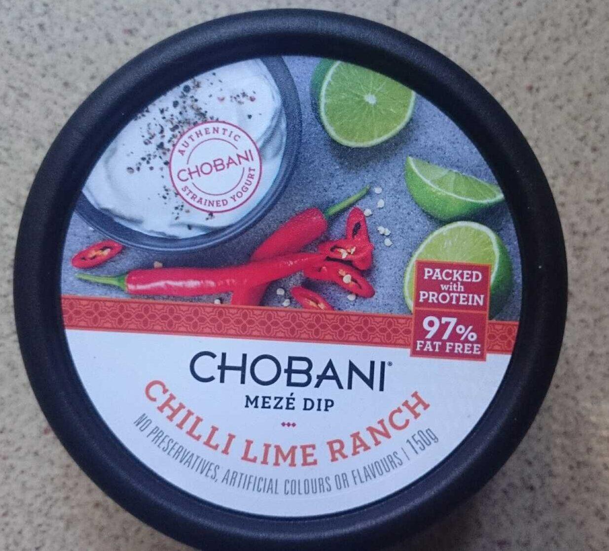 Chilli Lime Ranch Meze Dip - Product
