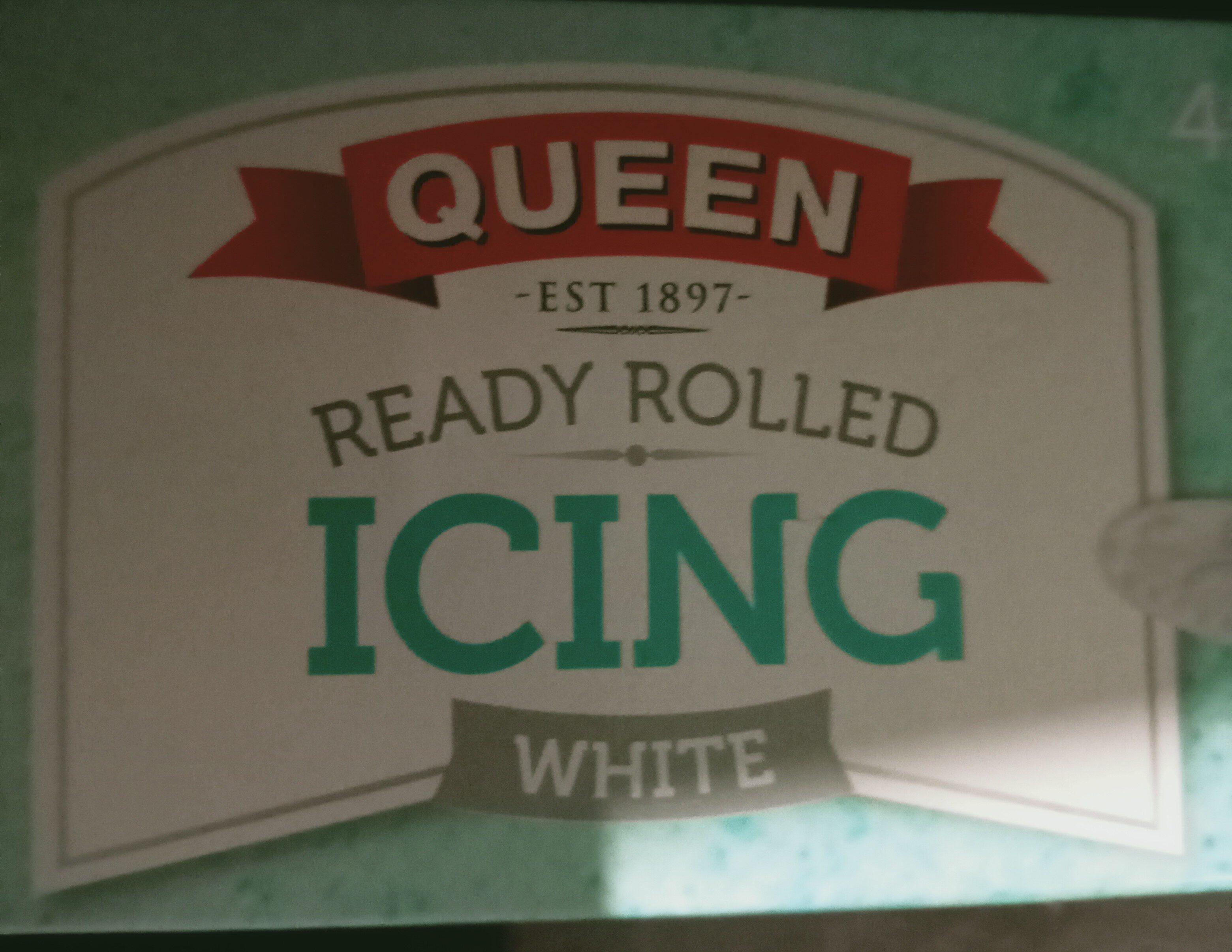 queen ready rolled icing white - Produit - en