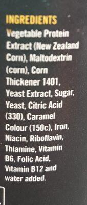 AussieMite - Ingredients