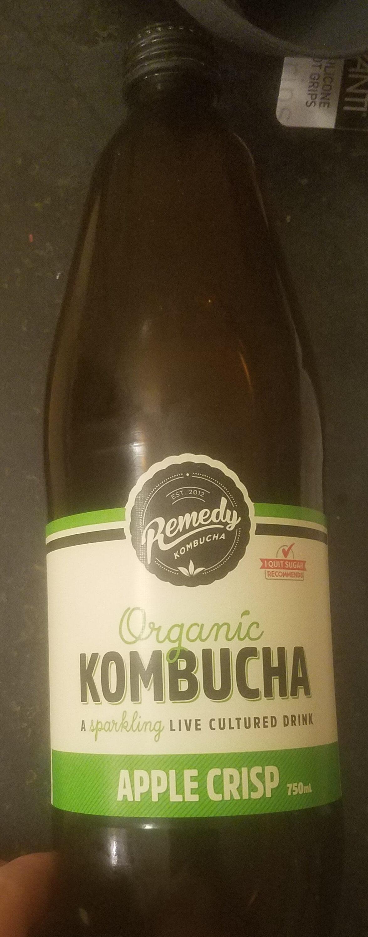 Organic Kombucha Apple Crisp - Product - en