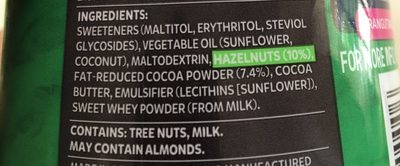 Hazelnut spread - Ingredients