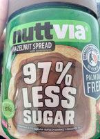 Nuttvia hazelnut spread - Product - en