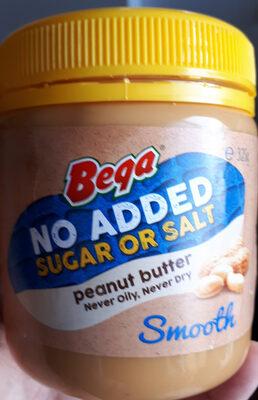 Peanut Butter No Added Sugar or Salt - Product - en