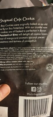 Tropical mango & passionfruit cookie bites - Ingredients - en