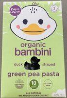 Duck shaped Green Pea Pasta - Product - en