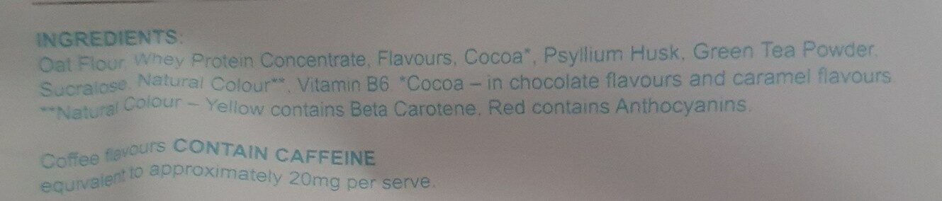 breakfast shake - Ingredients - en
