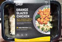 Orange Glazed Chicken with Basmati Rice & Green Vegetables - Produit - en