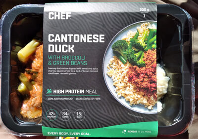 Cantonese Duck with Broccoli & Green Beans - Produit - en
