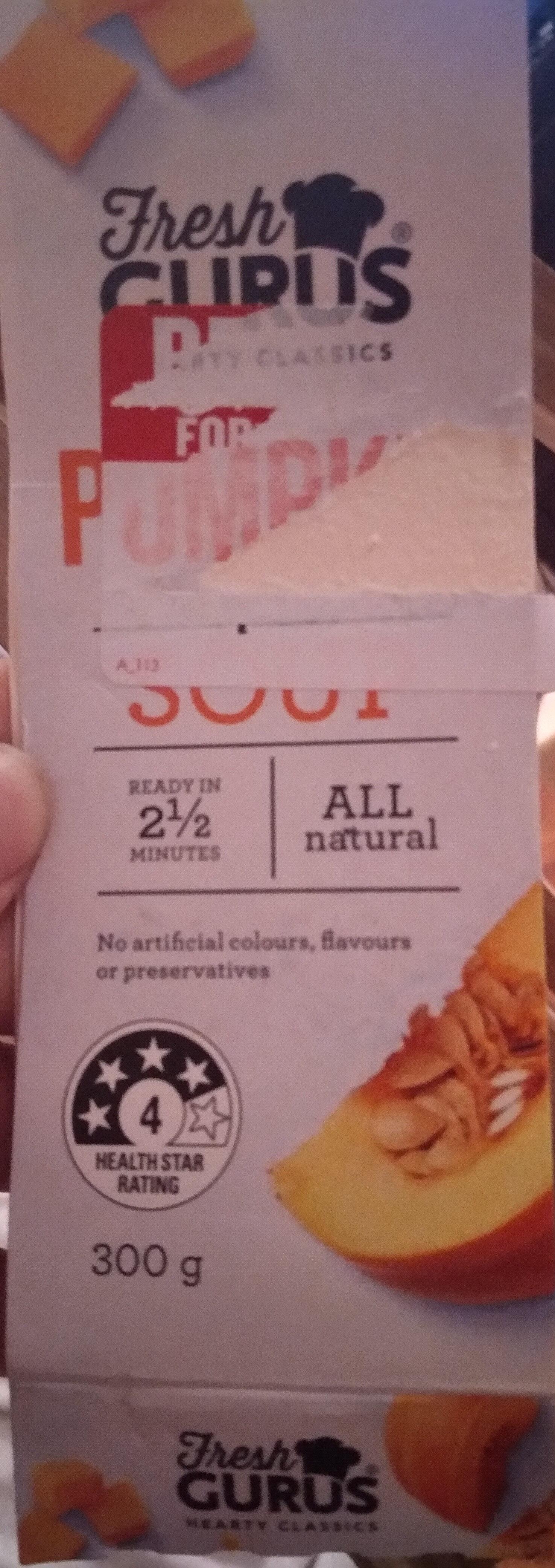 Pumpkin Soup - Product - en