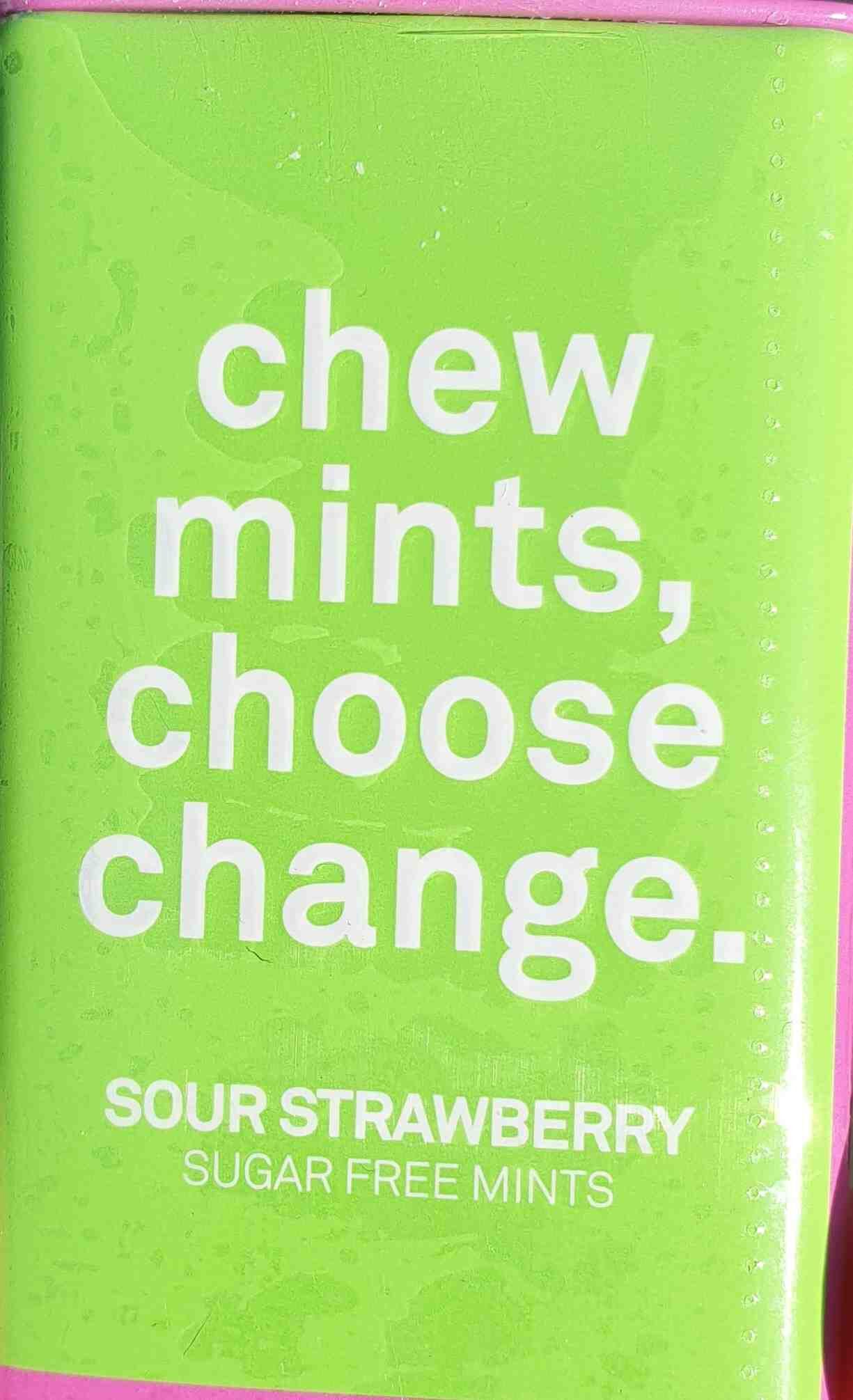 Sour Strawberry Mints - Product