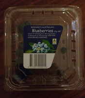 Benning's  Australian Blueberries - Product - en