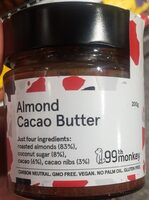Almond butter cacao butter - Product - en