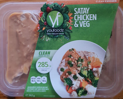 Satay Chicken & Veg - Product - en