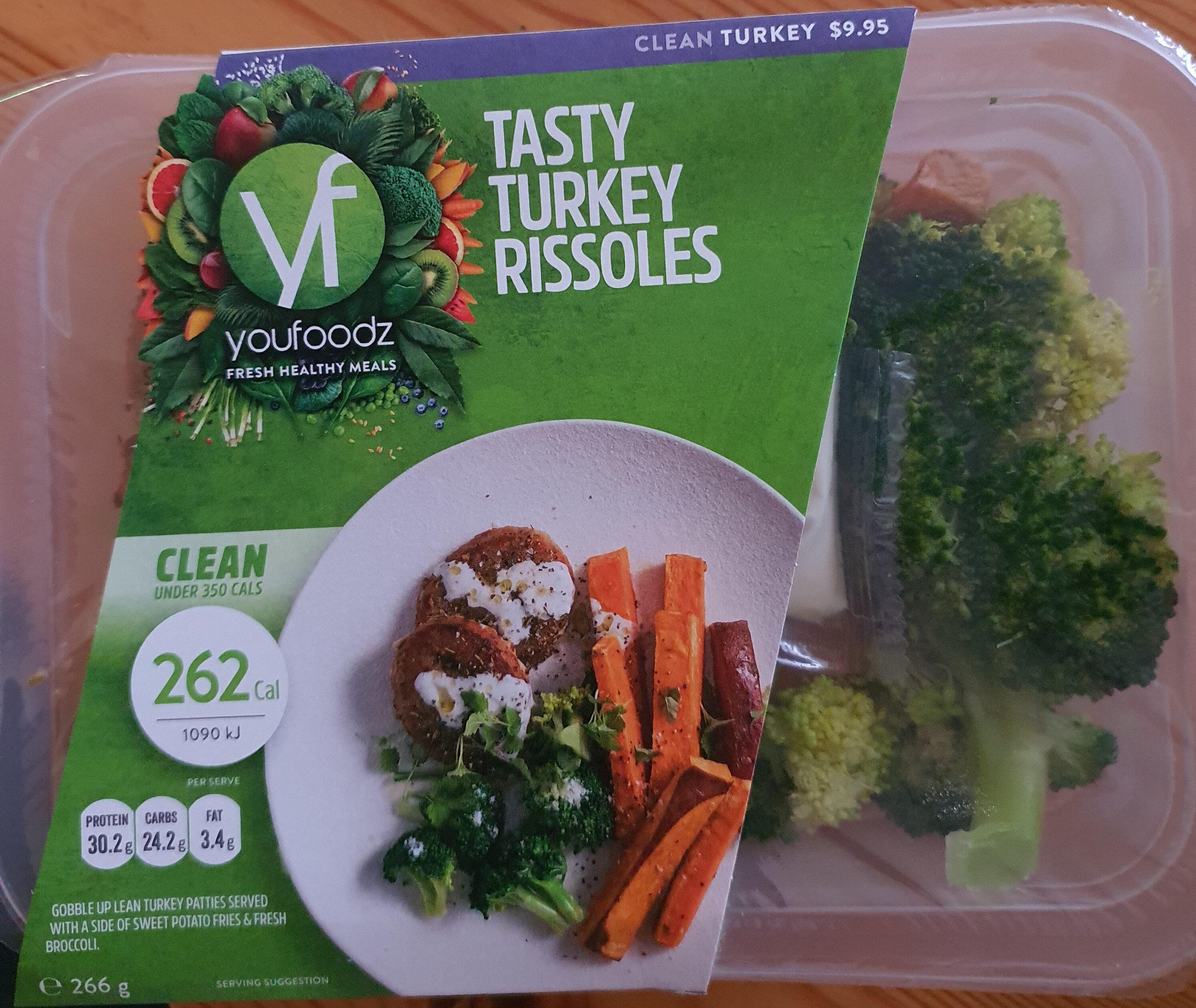 Tasty Turkey Rissoles - Product - en
