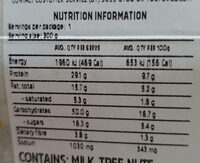 Nonna's Spaghetti Bolognese - Nutrition facts - en