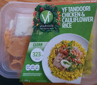 YF Tandoori Chicken & Cauliflower Rice - Product - en