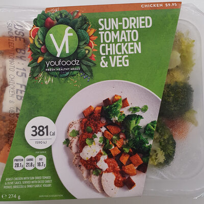 Sun-Dried Tomato Chicken & Veg - Product - en