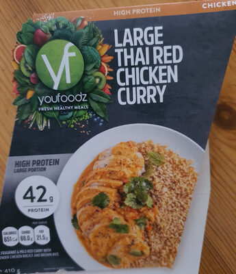 Large Thai Red Chicken Curry - Product - en