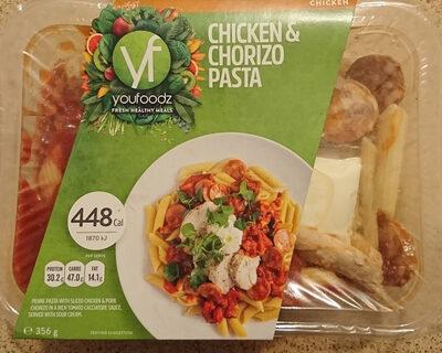 Chicken & Chorizo Pasta - Product - en