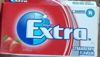 EXTRA strawberry flavour - Product - en