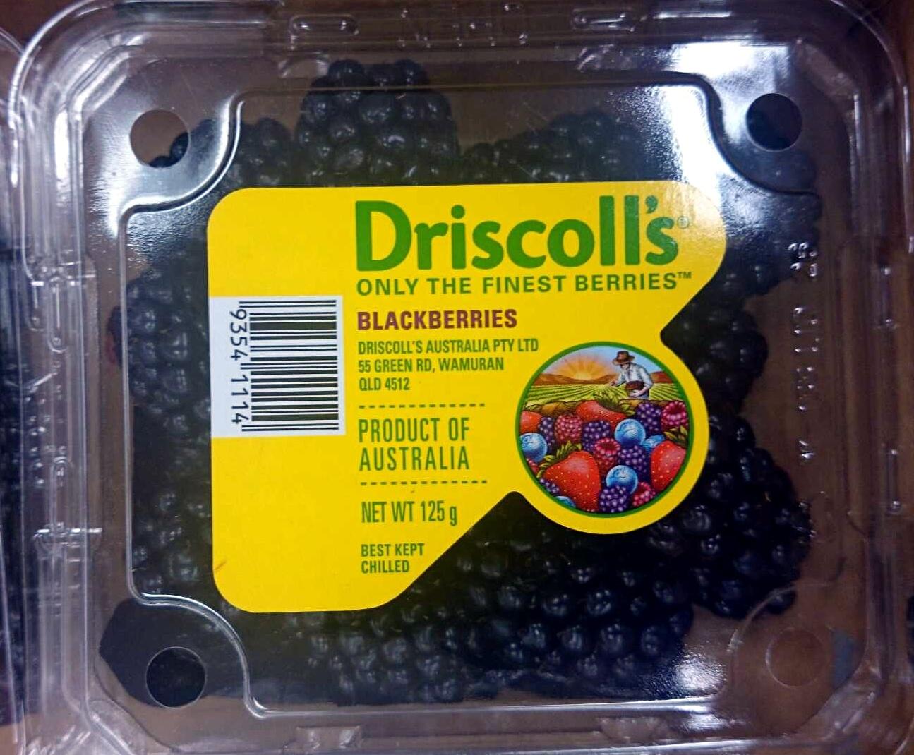 Blackberries - Produit - en