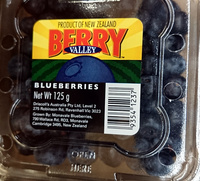 Berry Valley Fresh Blueberries - Product