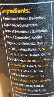 Shine Wild Tropical Flavour - Ingredients