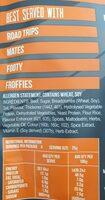 Ragin Cajun jerx jerky - Ingredients - en