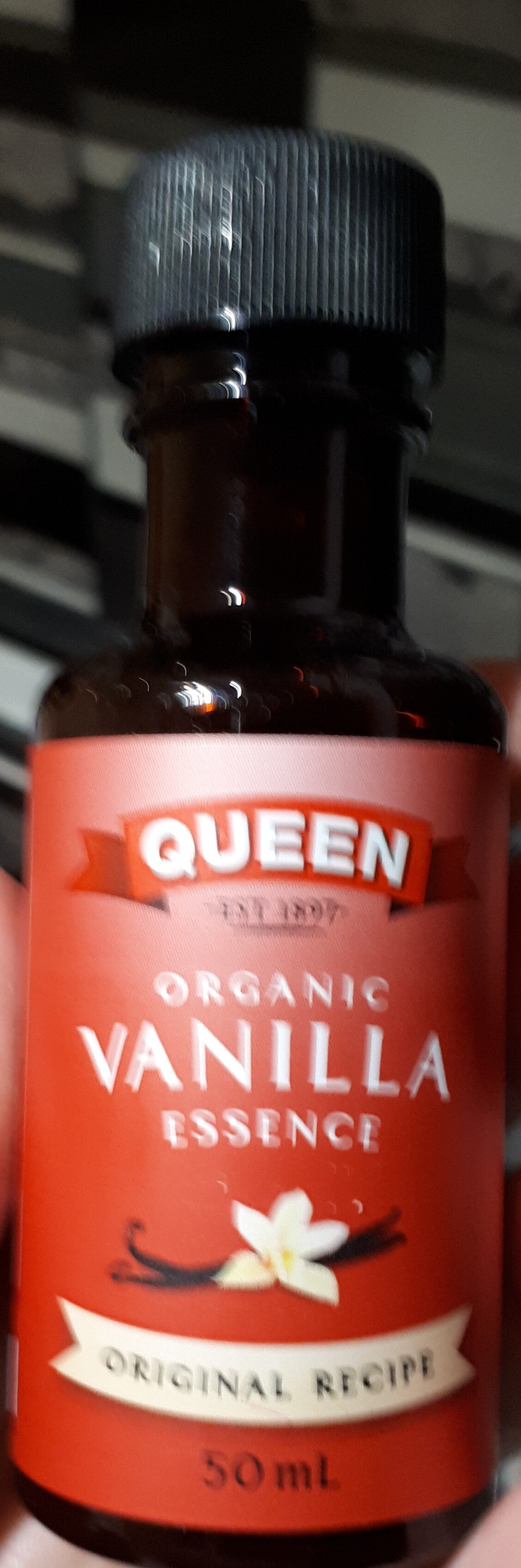 Organic vanilla essence - Product - en