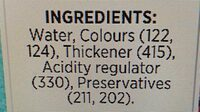 queen food gel colour pink - Ingrédients - en