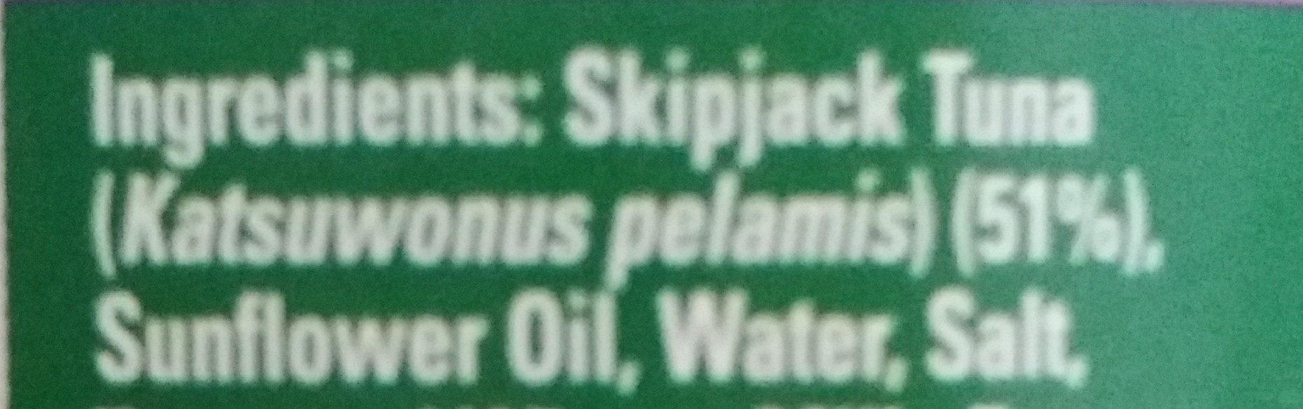 sandwich tuna flakes - Ingredients - en