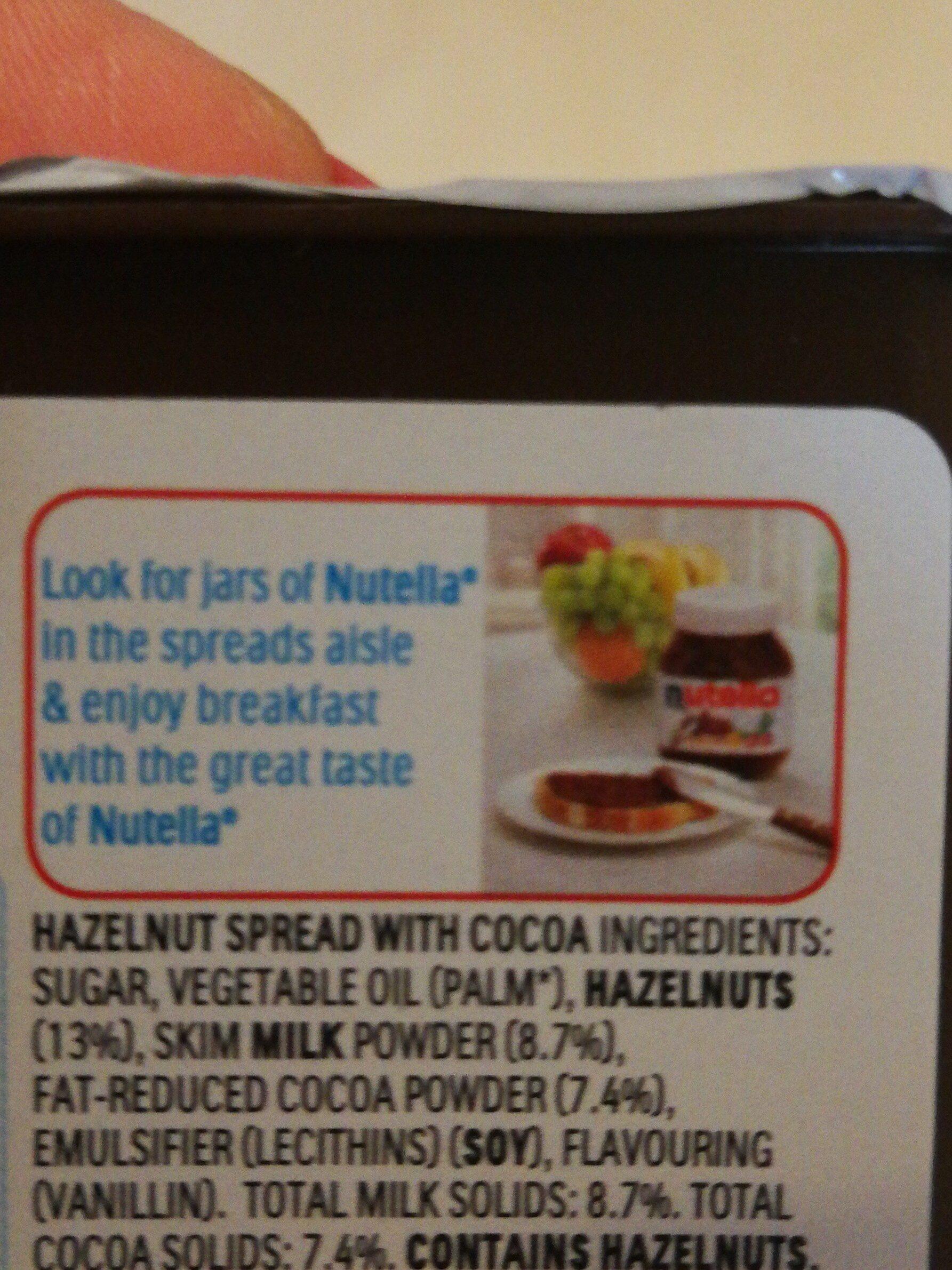 nutella & go - Ingredients - en