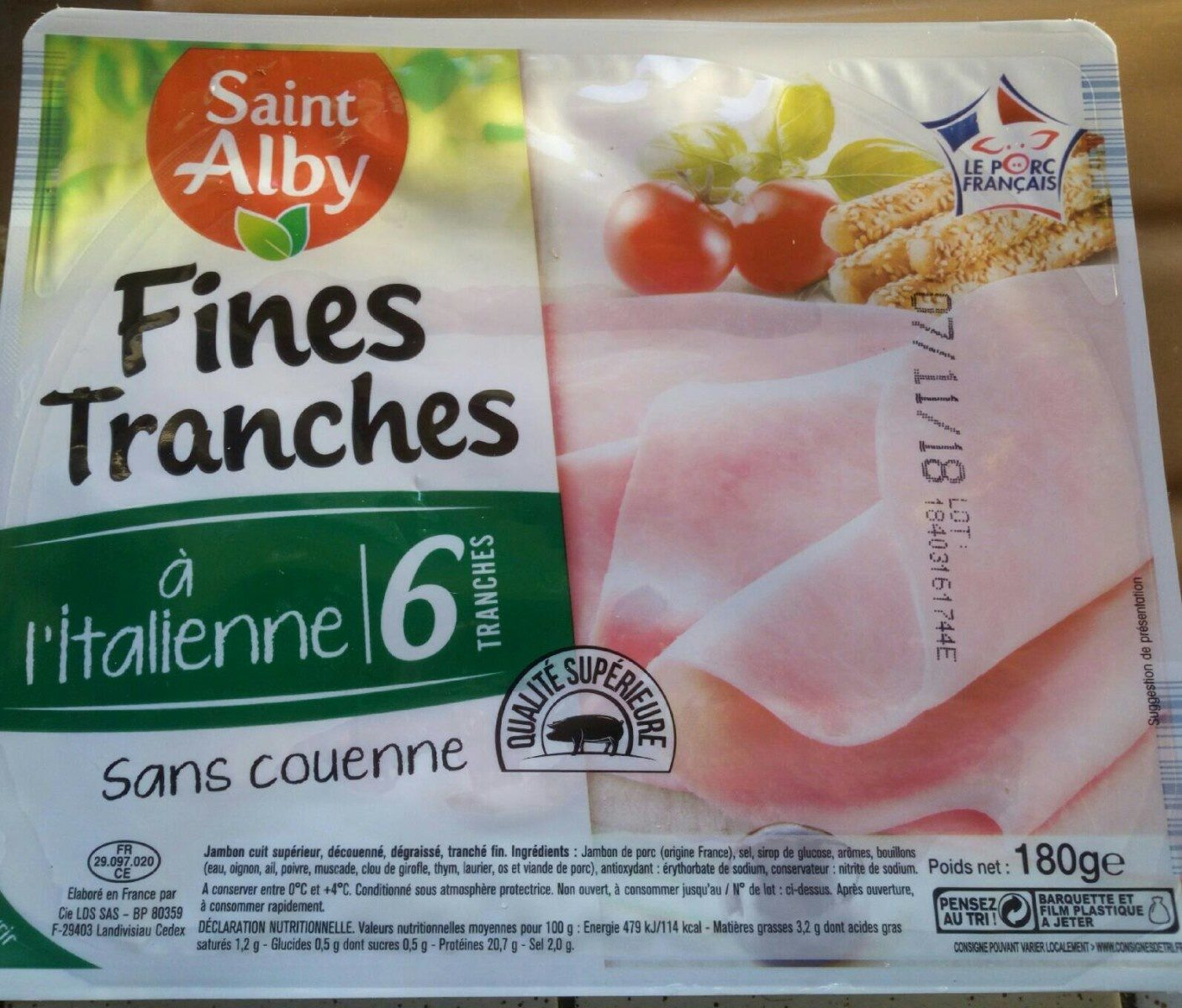 Fines tranches à l'italienne - Product