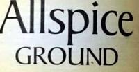 Allspice Ground - Ingredients - en