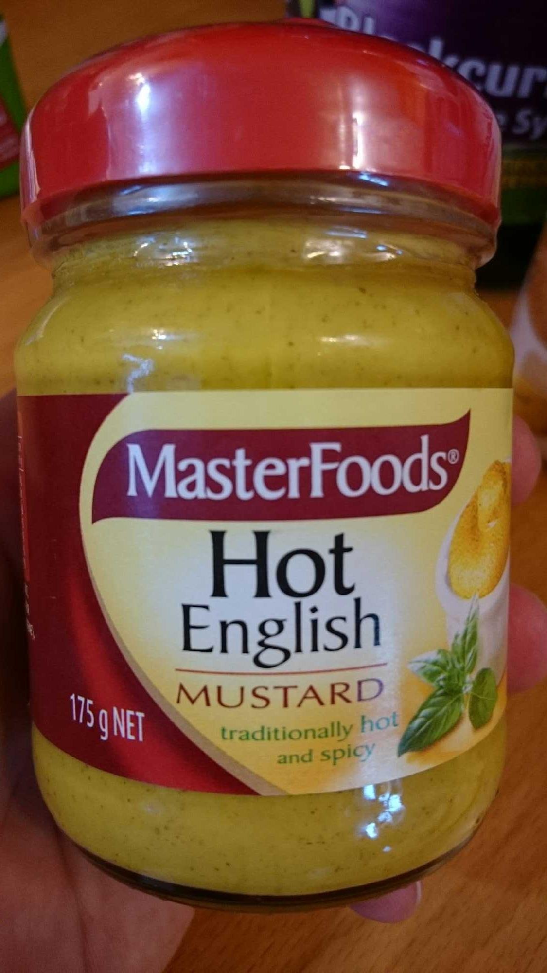 hot English mustard - Product