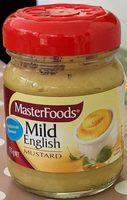 Mild English Mustard - Product - fr