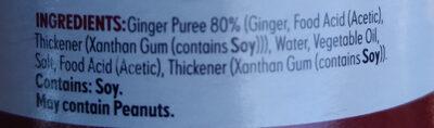 Ginger Finely Chopped - Ingredients - en