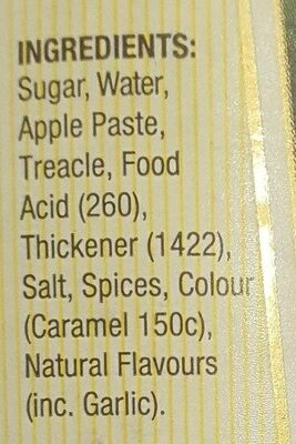 spring gully worcestershire sauce - Ingredients - en